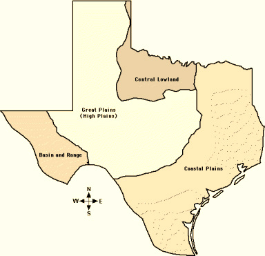 Four Regions of Texas - Home
